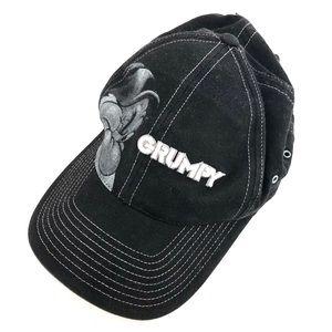 Grumpy Walt Disney World Snow Baseball Cap Hat
